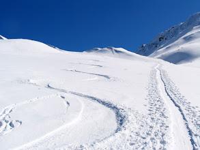 Photo: Direkt von der Sporta-Hütte aus, können herrliche Alpin-Skitouren unternommen werden.