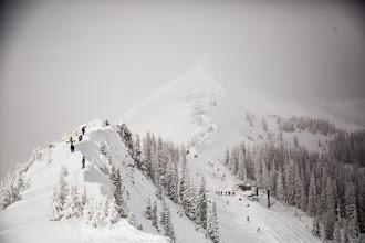 Photo: Hiking the Knife Ridge
