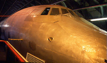 Photo: Forward fuselage of G-ANCF whilst in storage with the Bristol Aero Collection at Kemble.
