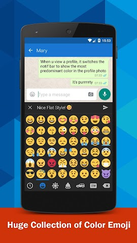 android Emoji Keyboard Screenshot 2