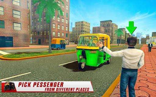 City Tuk Tuk Rickshaw Driver 2019 screenshot 10