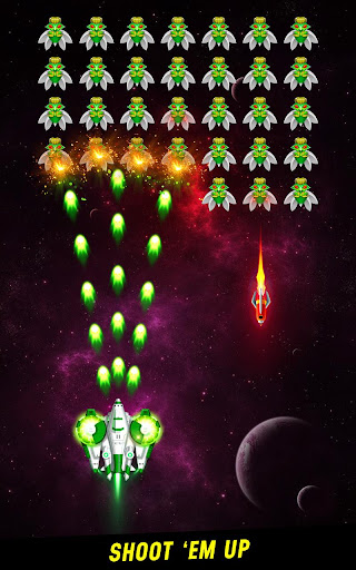 Space shooter: Galaxy attack -Arcade shooting game screenshots 1