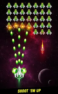 Space Shooter Galaxy Attack Mod Apk 1.455 (Unlimited Money) 1