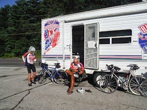 Photo: 20130812 Day 55 Manchester NH to Portsmouth NH  This picture is in the morning as we are ready to leave Manchester