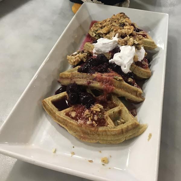 Mmm waffles!