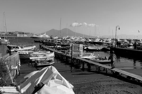 Porto di Mergellina di Mario Romano