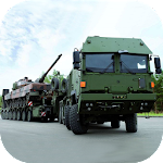 Army Truck Driving Simulator 3D:Offroad Cargo Duty Icon