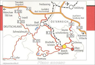 Photo: Plano de acceso al Berchtesgaden http://www.viajesenfamilia.it/