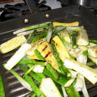 Winter Grilled Vegetables