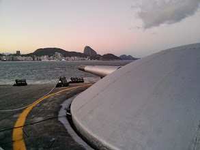 Photo: If wanted to shell the FIFA Fan Fest on Copacabana Beach from Forte de Copacabana...