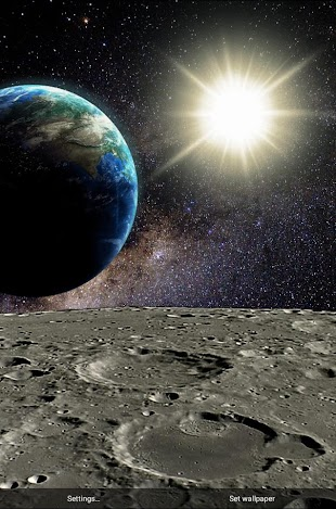 Parallax Deep Space LWP- screenshot thumbnail