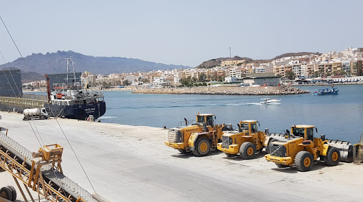 Creció más de un 6% en 2020 el tráfico de mercancías en el puerto de Garrucha