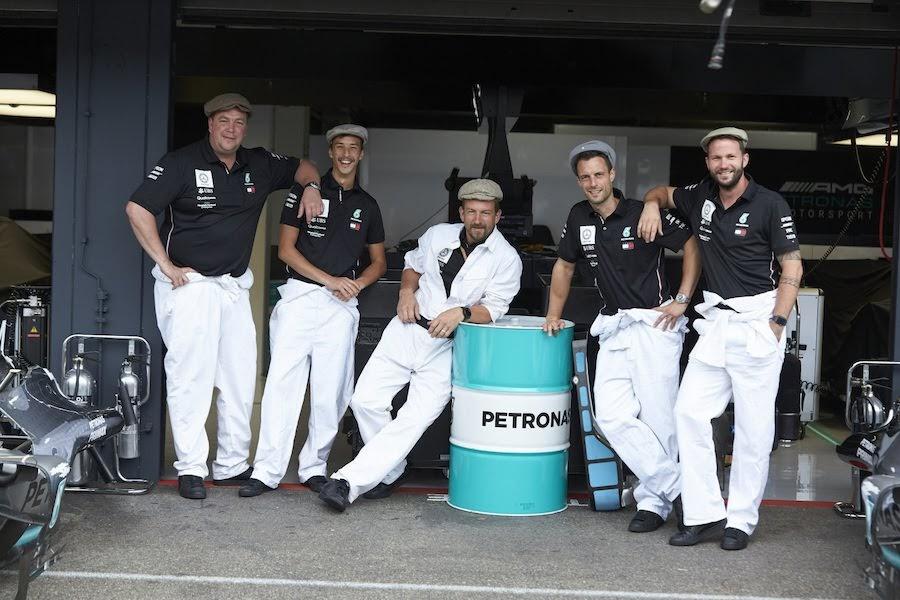 F1第11戦ドイツGP・メルセデス・モータースポーツ125周年