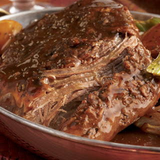 The Best Ever Bison Pot Roast