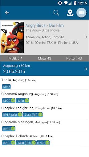 AbInsKino: Kinoprogramm mit Spielfilme TV Programm  screenshots 5