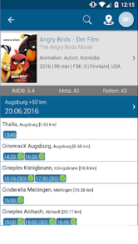 Ab Ins Kino - Kinoprogramm mit Openair Kino-Guide