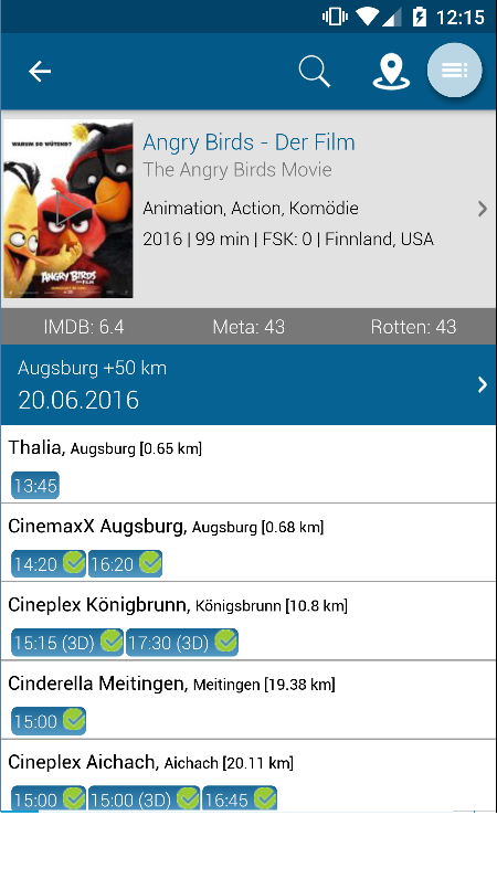 Kinoprogramm Unna