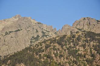 Photo: masív Monte d´Oro aj so skalnými ihlami, fotené z kepmu