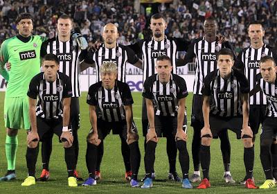 """Malheureux face aux clubs belges, le Partizan Belgrade veut y croire contre Charleroi : """"Le souvenir de cettevictoire contre Anderlecht est toujours bien présent"""""""