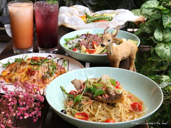 東海人氣美食蘑菇pasta換上新菜單,紙包飯、千層麵還有季節限定舒芙蕾~