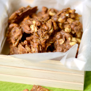Sweet and Salty No-Bake Clusters