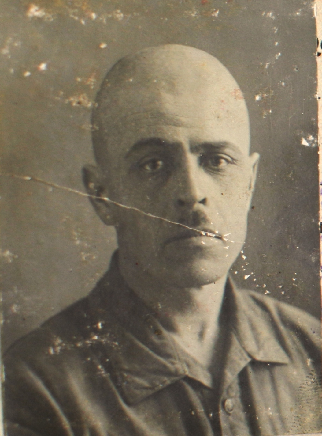 Комендант концтабору Степан Саєнко
