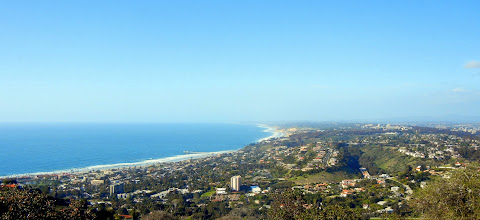 Photo: The view from Mount Soledad in La Jolla, CA