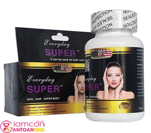 Everyday Super là loại thuốc giảm cân tốt nhất được nhiều người sử dụng