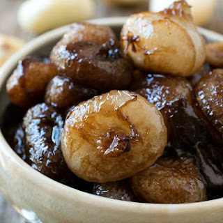 Sweet and Sour Balsamic Glazed Onions.