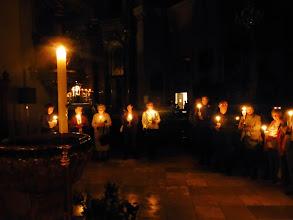 Photo: Im stimmungsvollen Kerzenlicht. Amen.