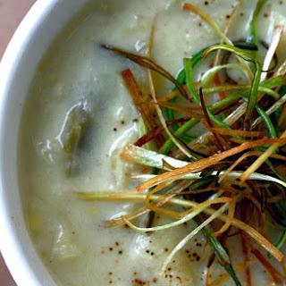 Potato & Leek Soup.