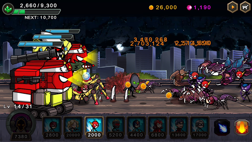 HERO WARS: Super Stickman Defense 1.0.5 screenshots 2