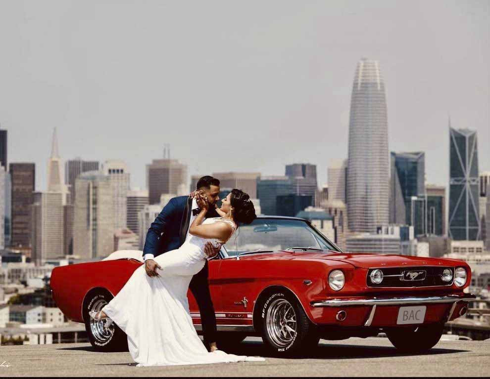 Ford Mustang Convertible Hire Danville