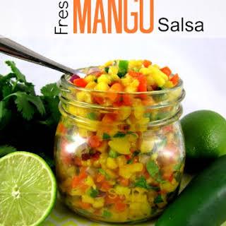 Fresh Mango Salsa.
