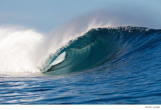 Photo: Cloudbreak, Fiji. Photo: Glaser  #surfer  #surferphotos