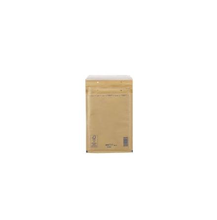 Luftbubbelpåse Gold/Brun Nr1 200st