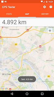 GPS Texter - náhled