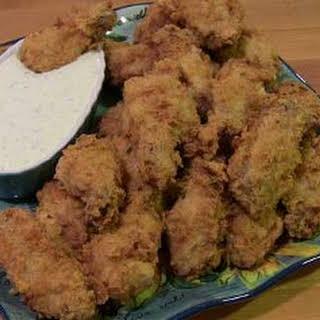 Crispy Fried Chicken Wings.