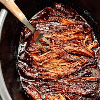 Slow Cooker BBQ Beef Brisket.