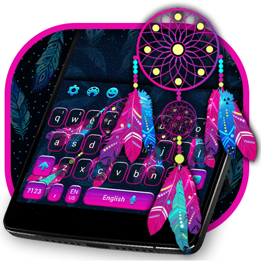 Dreamcatcher Keyboard Magical Theme