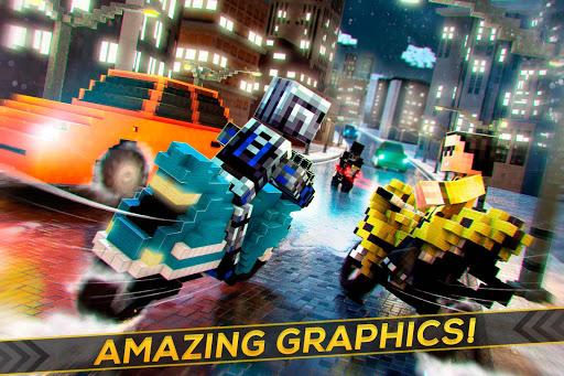 Blocky Superbikes Race Game - Motorcycle Challenge 2.11.18 screenshots 2