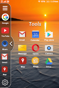 Multi Window Launcher : Split Screen Theme - náhled