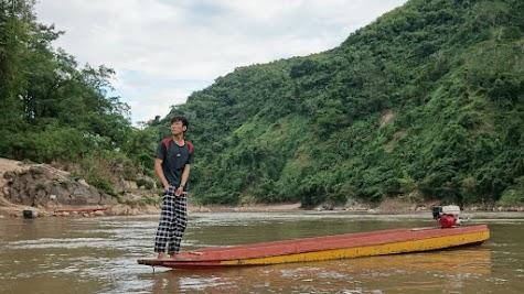 Unterwegs auf dem Ou River.