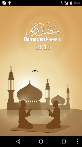 Horaires Ramadan 2015