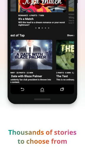 Tap by Wattpad - Interactive Story Community screenshot