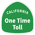 Pay one time toll icon