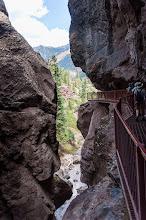 Photo: Slot Canyon, Ouray, Colorado