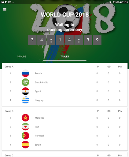 World Cup 2018 Live Scores & Fixtures 2.0.1 screenshots 12
