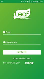 Leaf Club Rewards - náhled