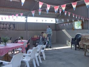 Photo: De koffie en thee wachten op de bezoekers.